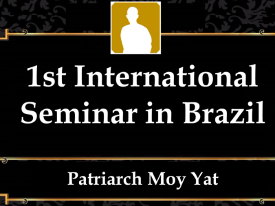 MYI11 – 1st International Seminar in Brazil
