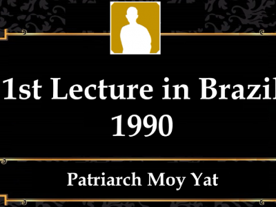 MYI12 – 1st Lecture in Brazil 1990